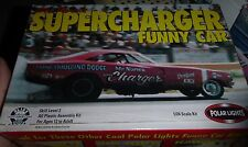 POLAR LIGHTS SUPERCHARGER MR NORM FUNNY CAR 1/25 Model Car Mountain kit OPEN