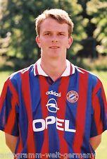 Dietmar Hamann Bayern München 1996-97 seltenes Foto