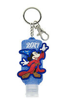 Disney Parks 2017 Sorcerer Mickey Mouse Hand Sanitizer Keychain Refillable
