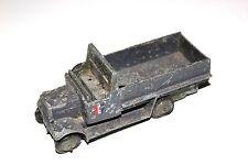 Dinky toys pre war militaire vert armée 6 roues wagon couvert # 151B r/p!!!