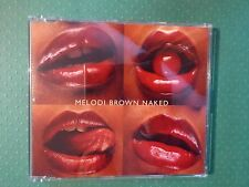 Melodi Brown 'Naked' CD (2002) Collectable Promotional Copy Rare