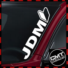 JDM Logo Car / Van Windscreen Decal Sticker JDM Japan Import - 17 Colours 550mm