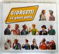 GIORGETTI - LA GENTE PARLA - CD Single Sigillato