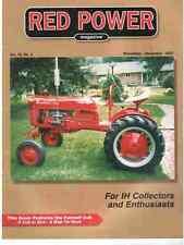 Farmall F-12 tractor IH 506 series, Cub Cadet RED POWER