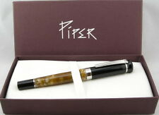 Piper Empire Autumn Brown Fountain Pen - Medium Nib - New - 65% OFF