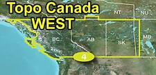 Garmin TOPO Canada v4 WEST British Columbia, Alberta SK