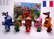 ➡ KINDER 2004 ☆ C 033-037 COMPLET : ROYAUME Tentes ☆ 5 Fig. + 1 BPZ France ☰