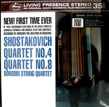 "SHOSTAKOVICH - MERCURY - SR90309 - 35mm FILM - ""QUARTETS NO.4/8"" - 180 GRAMS"