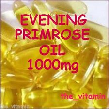 "EVENING PRIMROSE OIL 1000mg  1000 Capsules  ""BUY IN BULK""    (L)"