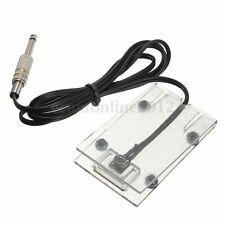 Tattoo Foot Pedal Switch Machine Footswitch Acrylic Controller For Power Supply