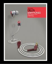 Brainwavz Delta Silver IEM Earphones With Remote &Mic Apple BWAVZ DELTA SV MIC-I