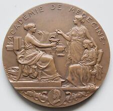 Large bronze Medal of the National Academy of Medicine of France by A.PATEY  M54