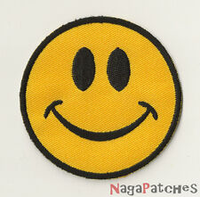 Ecusson brodé patche Smiley Smile thermocollant thermopatche / patch 226