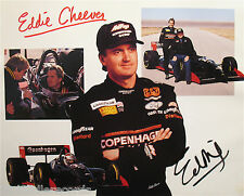 EDDIE CHEEVER-Autographed Racing Car Driver Photograph-INDIANAPOLIS 500 WINNER
