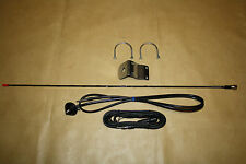 Toyota Landcruiser 100s bull bar mount AM/FM whip antenna kit. NEW!