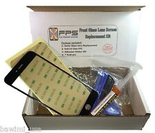 "Black Outer Glass Lens Screen iPhone 6 4.7"" Replacement UV LOCA Glue & Tools"