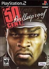NEW 50 CENT BULLETPROOF --- PLAYSTATION 2 PS2 Complete CIB w/ Box, Manual #5120