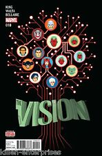 The Vision #10 Comic Book 2016 - Marvel