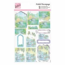 Anita's Foiled Decoupage - Swan Lake for cards and crafts