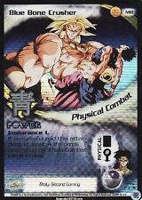 Dragon Ball Z TCG: BLUE BONE CRUSHER - M 8 -  Foil Promo!