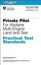 Private Pilot Practical Test Standards for Airplane Multi-Engine Land and Sea: F