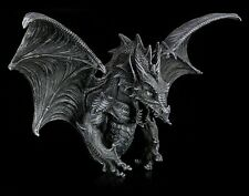 Drachen Wandrelief - groß - Dragon Statue large XXL Gothic Horror