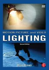 Motion Picture and Video Lighting, Second Edition, Blain Brown, Great book w cd