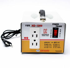 Home Converter Step Down Voltage Transformer From 220V to 110V 1000W Korea DOO