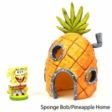 Decoration Ornament Aquarium fish tank decor Spongebob Pineapple Home new