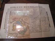 ITALIA DUE CARTE GEOGRAFICHE UNA DELLE STRADE FERRATE DEL REGNO  (15)