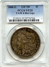 C7915- 1888-O VAM-4 HOT LIPS TOP 100 MORGAN DOLLAR PCGS VF35