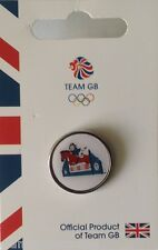 OFFICIAL TEAM GB RIO 2016 PRIDE MASCOT EQUESTRIAN PIN - LIMITED EDITION PIN