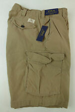 Polo Ralph Lauren Canvas Utility Commander Cargo Shorts Classic Fit NWT Military