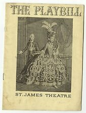 May Wine - Vintage Playbill - St. James Theatre, New York, 1936