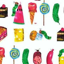 THE VERY HUNGRY CATERPILLAR...FOODS & TREATS FABRIC