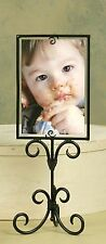Vertical Scroll Photo Holder & Display - Charcoal - Home Accent, Pictures