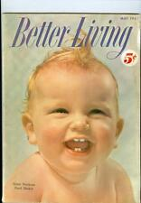 1952 Better Living Magazine Baby Week/Mrs.Gerber/Heinz/Coca-Cola/NesCafe