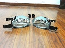 1Pair Clear Bumper Fog Lights Driving Lamps for Honda Civic 2012 2013
