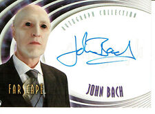 FARSCAPE SEASON FOUR AUTOGRAPH CARD A31 OF JOHN BACH AS EINSTEIN