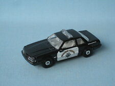 Matchbox 1993 Ford Mustang Police Car Highway Patrol Toy Model Car