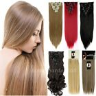 100% Real Natural Hair Extention Clip inHair Extensions with 10% human hair hod1