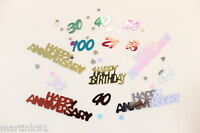AGE CONFETTI TABLE SCATTER TOP BIRTHDAY AGES CONFETTI EVENT PARTY DECORATION