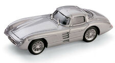 Mercedes-Benz 300 SLR Coupe, Silver 1955 Cars, Brumm R187  Diecast 1/43