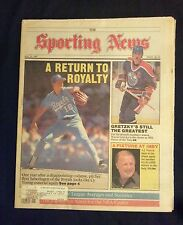 May 25 1987 The Sporting News  Bret Saberhagen  Royals