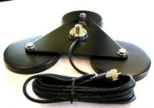 CB ANTENNA THREE MAGNETIC SUPER STRONG BASE MFJ GOLIATH 120MM X 3