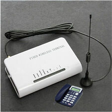 Wireless GSM Fixed Terminal Home Phone Sim Card insert FWT to Make Phone call