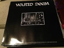 "WASTED DOOM - ANGER YOUR NEIGHBOURS 12"" MAXI GERMANY EBM DARKWAVE"