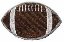"#3646 5"" Football Sports Ball Embroidery Iron On Appliqué Patch"