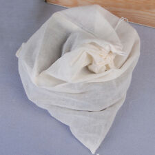 10 Pack 16x20 inch Cotton Muslin Drawstring Bags Large 40x50 cm