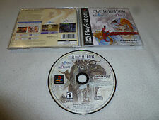 RARE RPG GAME FINAL FANTASY ORIGINS VIDEO GAME SQUARESOFT II FF2 ROLE PLAYING